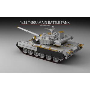 RPG Model . RPG 1/35 T-80U Main Battle Tank