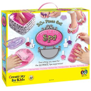 Creativity for kids . CFK Day at the Spa Deluxe Gift Set