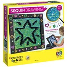 Creativity for kids . CFK Sequin Drawing