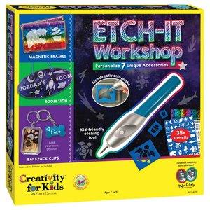 Creativity for kids . CFK Etch-It Workshop