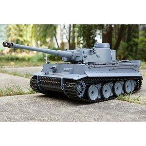 Heng Long . HNL German Tiger 1 RC heavy tank-Fully upgraded