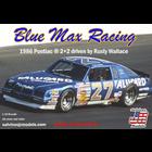 Salvinos Jr Models . SJM Blue Max Racing 1986 Pontiac 2+2 Driven by Rusty Wallace