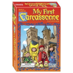 Z-MAN GAMES . ZMG My First Carcassonne