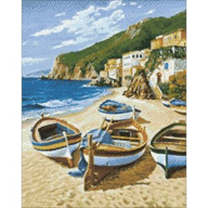 Collection D'Art . CDA Fishing Boats Collection D'Art Diamond Kit
