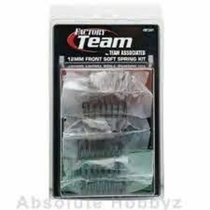 Associated Electrics . ASC 12mm Front Spring Kit, Soft