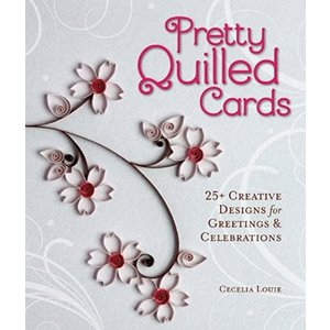 Quilled Creations . QUI (DISC) Pretty Quilled Cards - Book