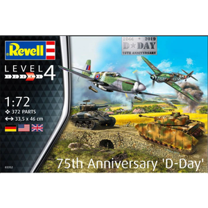 Revell of Germany . RVL 1/72 D-Day 75th Anniversary Set