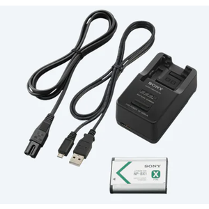 Sony . SNY Cyber-shot Battery and Charger for Sony Action Cam