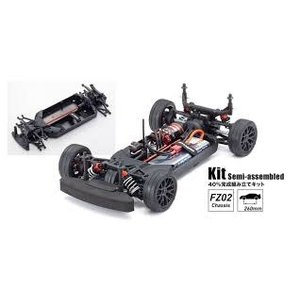 Kyosho . KYO FZ02 Chassis Kit with Mercedes