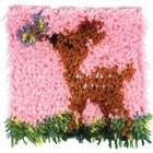 Caron . CAR Little Fawn Latch Hook Nature Rug Art Animals Calgary