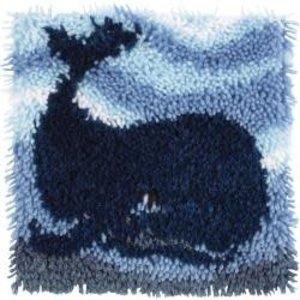 Caron . CAR Big Blue Whale Latch Hook
