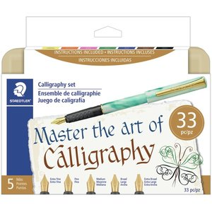 Staedtler Mars . STD Calligraphy Pen Set