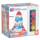 MindWare . MIW Paint Your Own Porcelain Rocket Light