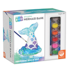 MindWare . MIW Paint Your Own Porcelain Mermaid Bank