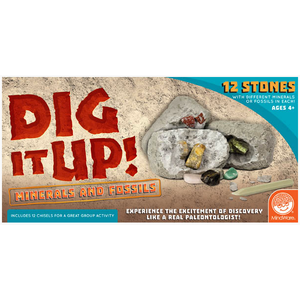 MindWare . MIW Dig It Up! Minerals and Fossils (12Pack)