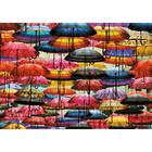 Piatnik Puzzles . PIA Colorful Umbrellas Puzzle 1000pc