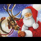 Craft Buddy . CBD Santa's Best Friend - Crystal Art Kit (Large)