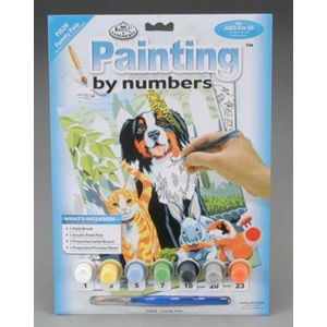 Royal (art supplies) . ROY Family Pets - Paint By Number