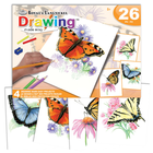 Royal (art supplies) . ROY Butterflies - Drawing Made Easy