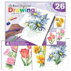 Royal (art supplies) . ROY Flowers - Drawing Made Easy Beginners Nature Art Sketching Kit Calgary