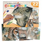 Royal (art supplies) . ROY American Wildlife - Colour Pencil by Number
