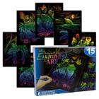 Royal (art supplies) . ROY Rainbow Animals - Engrave Art Activity Set