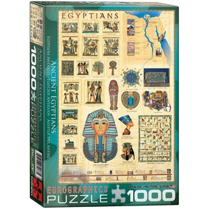 Eurographics Puzzles . EGP Ancient Egyptions 1000pc Puzzle