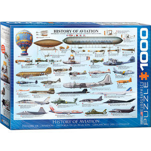 Eurographics Puzzles . EGP History of Aviation 1000pc Puzzle