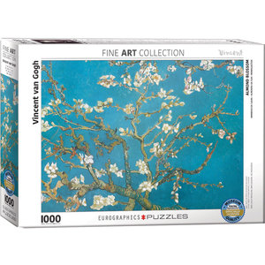 Eurographics Puzzles . EGP Almond Blossom by Van Gogh 1000pc Puzzle