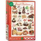 Eurographics Puzzles . EGP Sweet Christmas 1000pc Puzzle Holiday Christmas Calgary