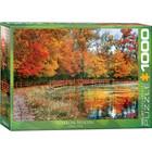 Eurographics Puzzles . EGP Sharon Woods Ohio 1000pc Puzzle