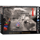 Eurographics Puzzles . EGP San Antonio River Walk 1000pc Puzzle Nature Travel Calgary