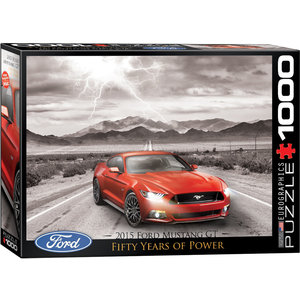 Eurographics Puzzles . EGP 2015 Ford Mustang GT - 1000pc Puzzle