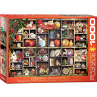 Eurographics Puzzles . EGP Christmas Ornaments - 1000pc Puzzle