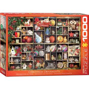 Eurographics Puzzles . EGP Christmas Ornaments - 1000pc Puzzle