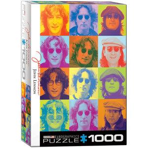 Eurographics Puzzles . EGP John Lennon Color Portraits