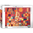 Eurographics Puzzles . EGP Castle and Sun - 1000pc Puzzle Art History Calgary