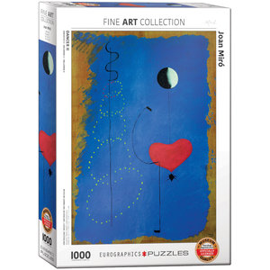 Eurographics Puzzles . EGP Dancer II by Joan Miro - 1000pc Puzzle