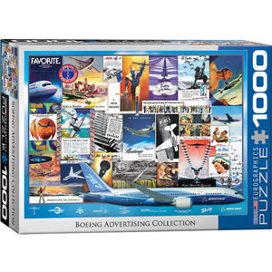 Eurographics Puzzles . EGP Boeing Advertising Collection - 1000pc Puzzle