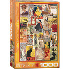 Eurographics Puzzles . EGP Theater & Opera Vintage Art - 1000pc Puzzle
