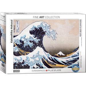 Eurographics Puzzles . EGP Great Wave of Kanagawa - 1000pc Puzzle