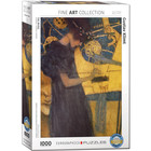 Eurographics Puzzles . EGP The Music by Gustav Klimt - 1000pc Puzzle Art History Calgary