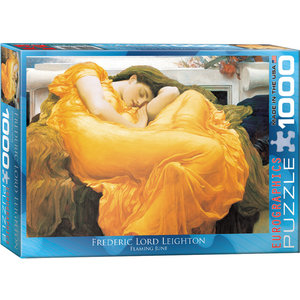 Eurographics Puzzles . EGP Flaming June - 1000pc Puzzle