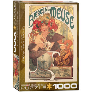Eurographics Puzzles . EGP Bières de la Meuse - 1000pc Puzzle