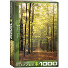 Eurographics Puzzles . EGP Forest Path - 1000pc Puzzle Nature Calgary