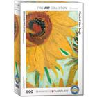 Eurographics Puzzles . EGP Sunflower by Vincen van Gogh - 1000pc Puzzle