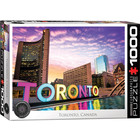 Eurographics Puzzles . EGP Toronto ON - HDR - 1000pc Puzzle Travel Calgary