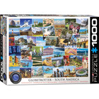 Eurographics Puzzles . EGP Globetrotter South America - 1000pc Puzzle Travel Nature Calgary