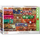 Eurographics Puzzles . EGP Travel Suitcases - 1000pc Puzzle
