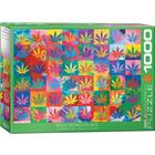 Eurographics Puzzles . EGP Weed Wonderland - 1000pc Puzzle Calgary